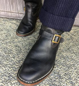 29 Engineer Boots with Vintage Touch