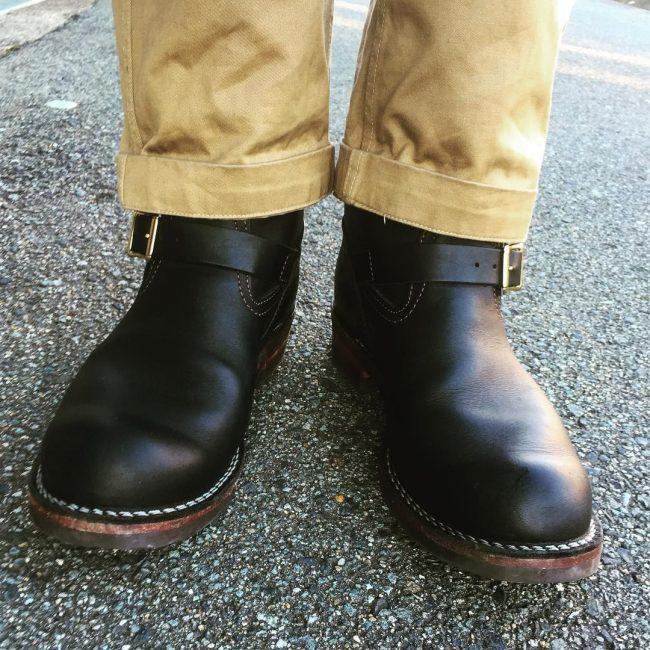 32 Engineer Boots with Chinos Pants