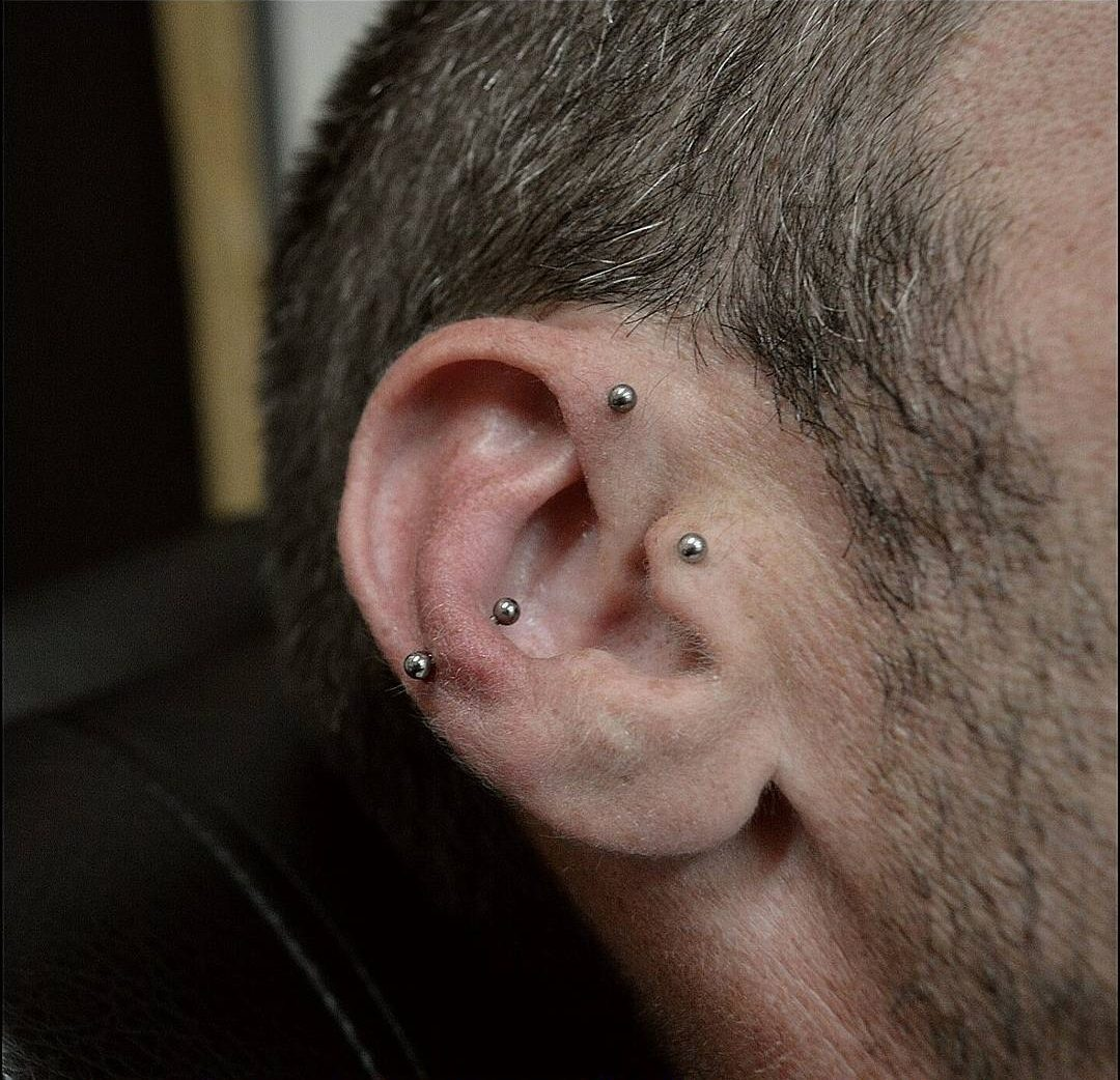 Gets ear pierced gay ear