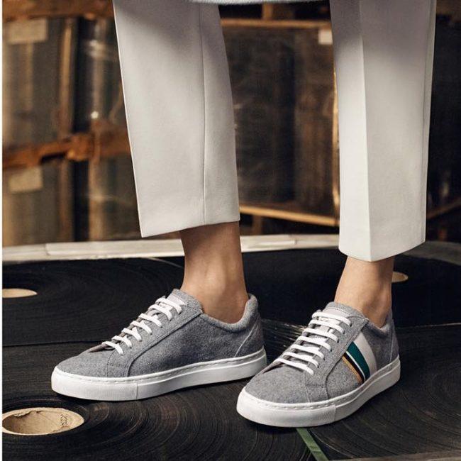 5 Boss Felt Sneakers