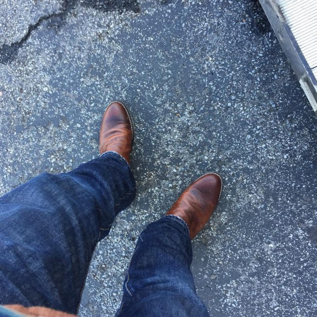 5 Round Toe's with Denim