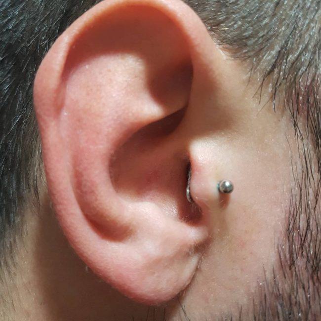 Type of ear piercings for guys
