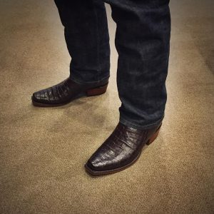 7 Exotic Alligator Print Lucchese Boots