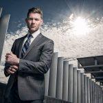 7 Graphite Grey Peak Lapelled Suit