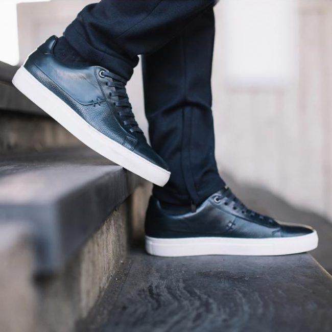 7 Sleek Leather Sneakers