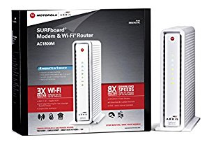 ARRIS SURFboard SBG6782-AC DOCSIS 3.0 Cable Modem and AC1750 Wi-Fi Router -...