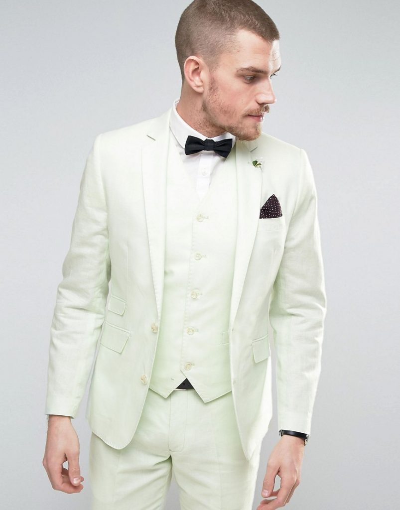 40 Variations Of Linen Suit For Men - Look Cool and Trendy