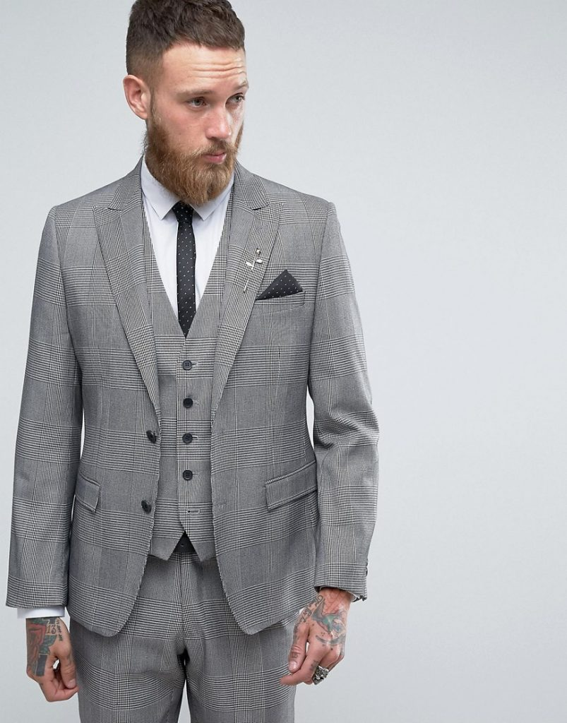 Uncategorized Light Grey Suit Color Combinations 55 admirable black and white suit ideas the perfect color 211 0 rudie super skinny gray check jacket gray