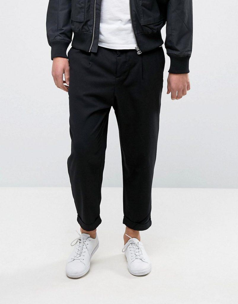 Black Shoes Khaki Patnbs