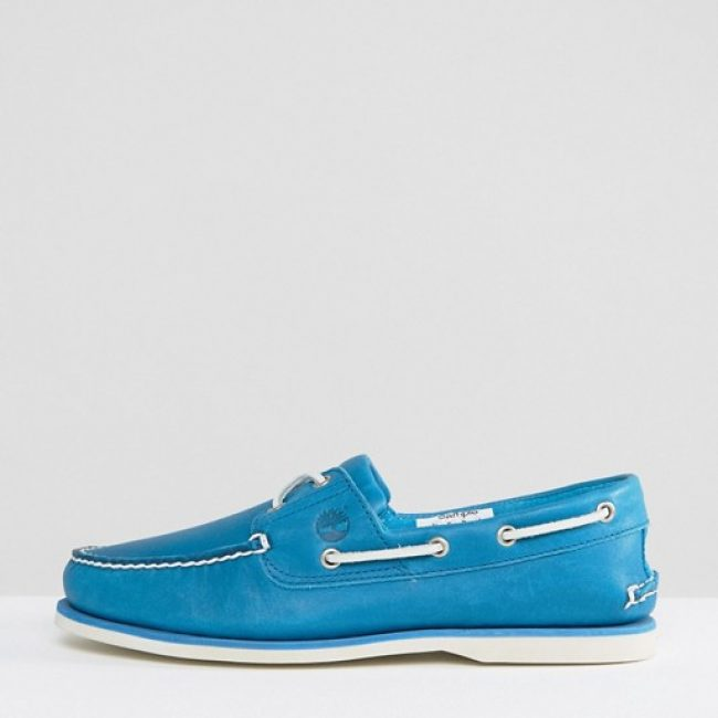 light blue timberland boat shoes