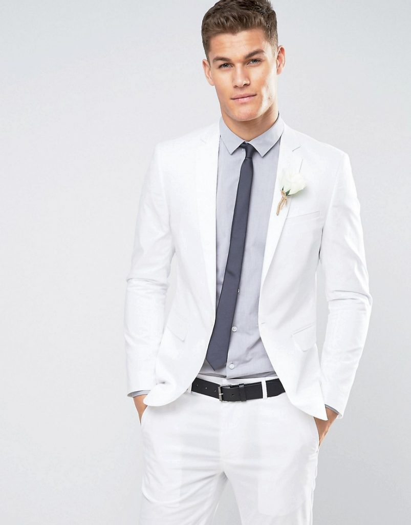 40 Awesome Ideas For White Suits For Men - A Hollywood Look