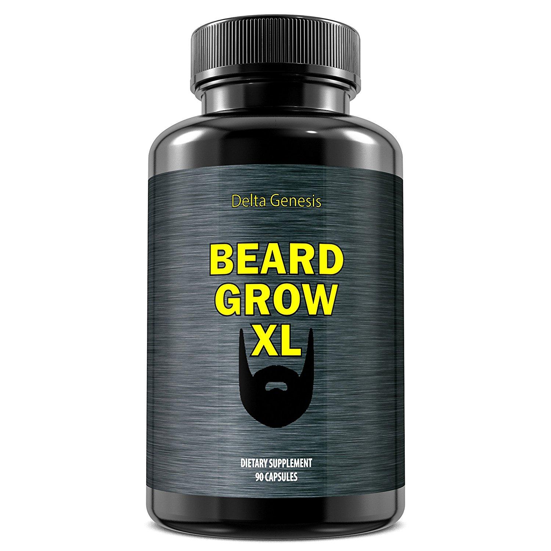 Beard Grow XL | Facial Hair Supplement | #1 Mens...