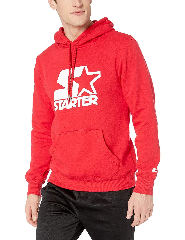 Starter Men's Pullover Logo Hoodie, Amazon Exclusive