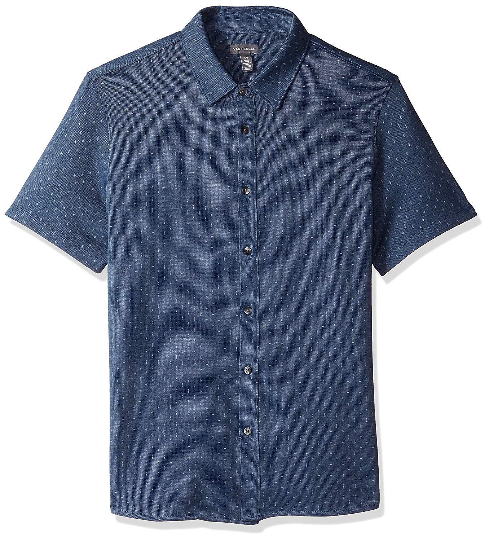 Van Heusen Men's Never Tuck Short-Sleeve Shirt