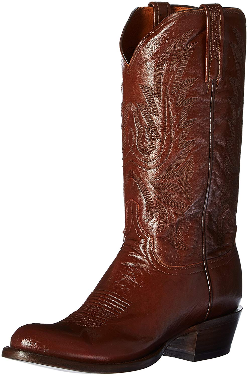 Lucchese Men's Carson Leather Cowboy Boot