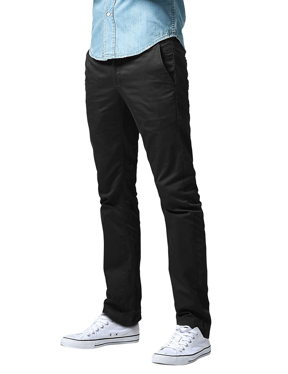 Match Men's Athletic Fit Straight Leg Casual Pants