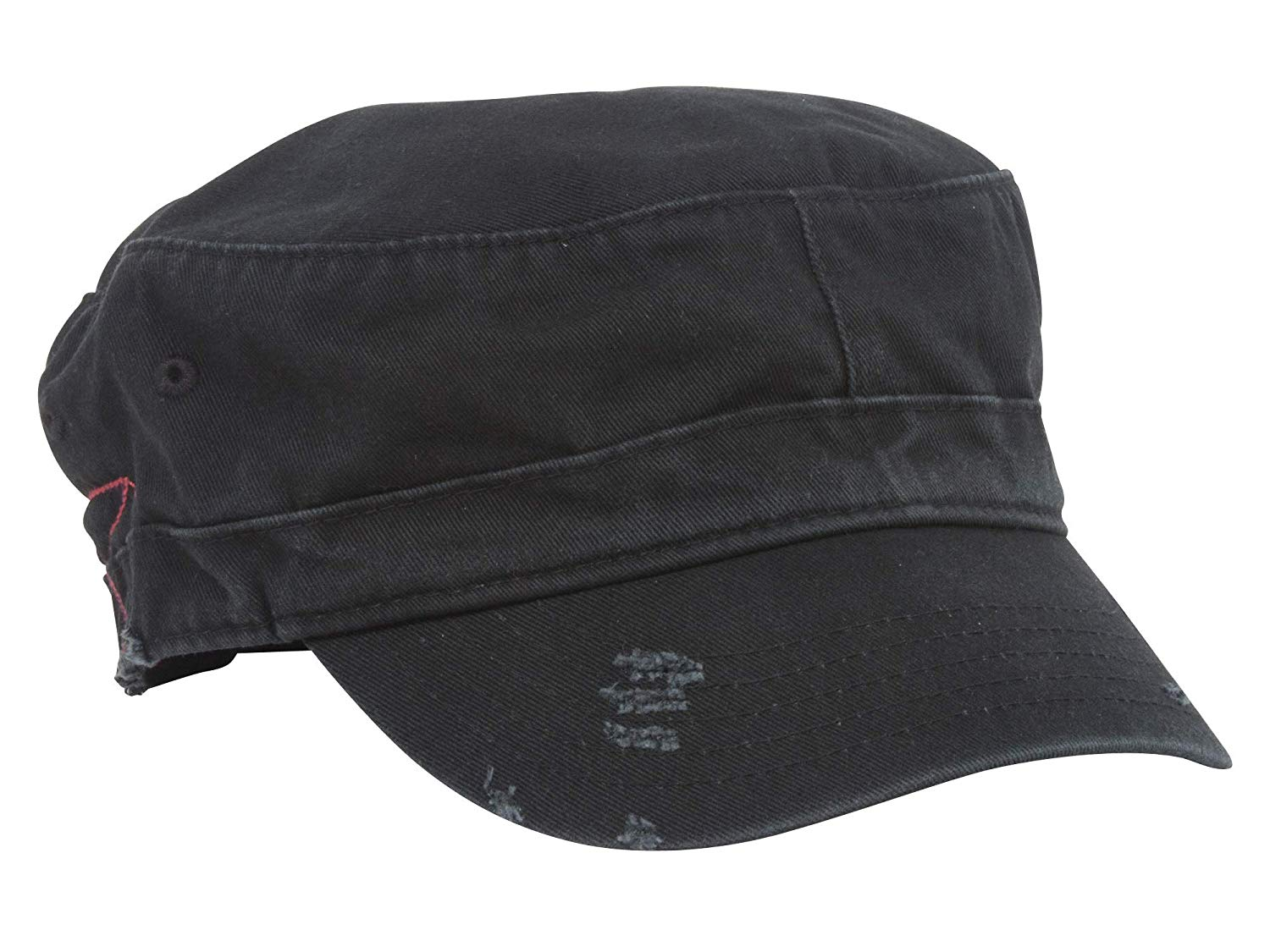 MG Distressed Washed Cotton Cadet Army Cap