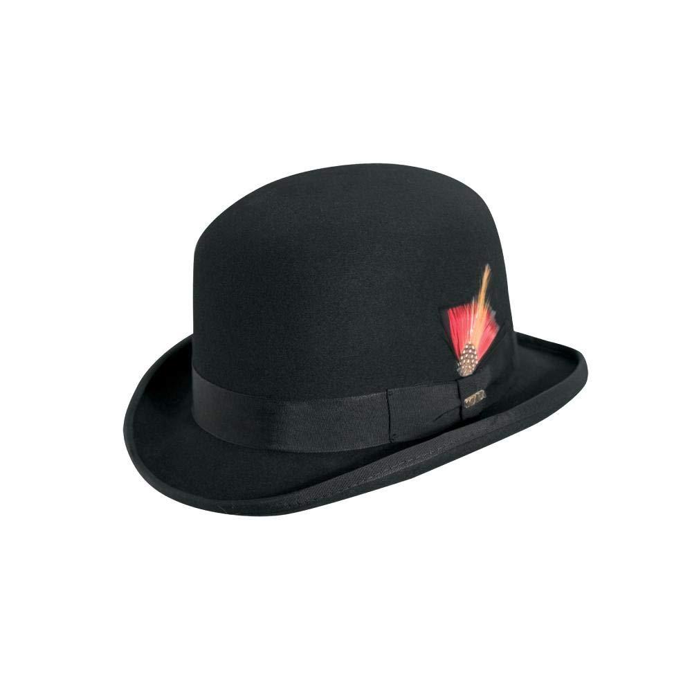 Scala Men's Wool Felt Derby Hat