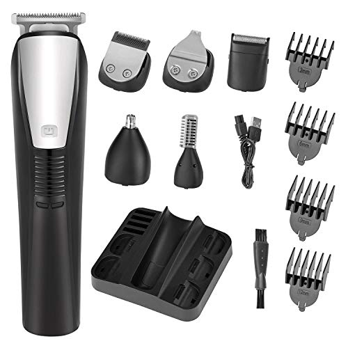 Beard Trimmer Mens Hair Clipper Mustache Trimmer Shaver Body Groomer Trimmer and...