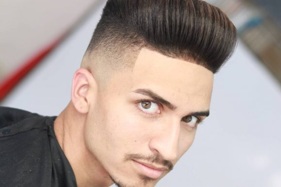 25 Pristine Pompadour Fade Styles That Will Give You An Edge