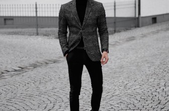 25 Ideas for Grey Jacket and Black Pants – Easy and Trendy