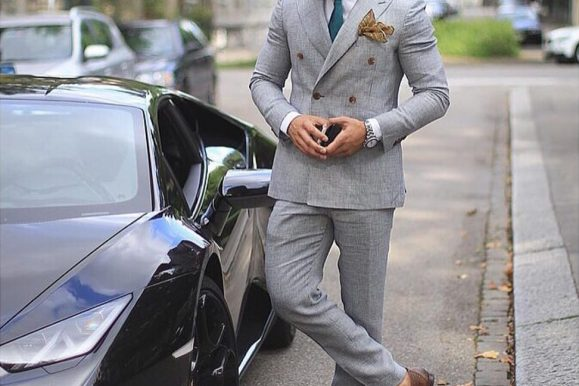 25 Amazing Gray Suit and Brown Shoes Combinations – Style and Elegance Redefined!