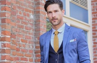 25 Ways to Style Blue Vest – A Secret Fashion Route for a Modern Man