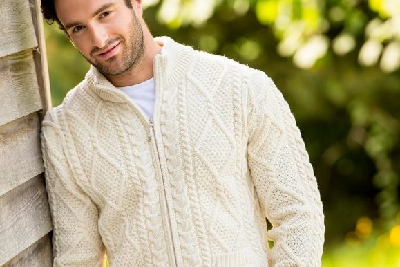 30 Ways to Wear Classic Aran Sweaters – Authentic and Stylish Jumpers