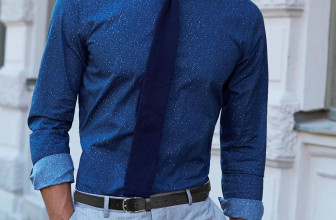 25 Remarkable Ways To Style Dark Blue Shirt – Come Out Rocking