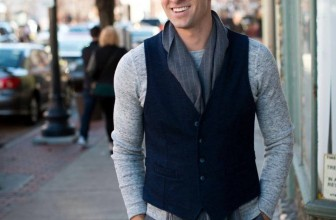 25 Great Ways To Style Black Vest – For A Superb Official Or Casual Look