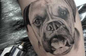 90 Enthralling Dog Tattoo Ideas – Heartwarming Designs for Hound Lovers