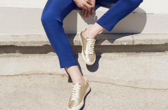 25 Spectacular Ideas on Gold Sneakers – Special Designs for You