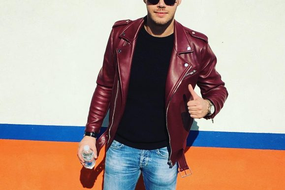 25 Great Ways To Style Red Leather Jacket – Achieve A Stunning Casual Look