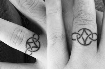 60 Hearwarming Wedding Ring Tattoo Ideas – The New Celebrity Trend