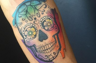 90 Magnificent Sugar Skull Tattoo Ideas – Represent the Celebration of Life