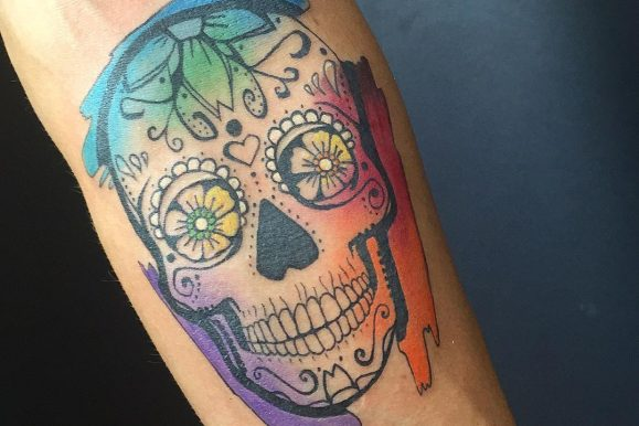 90 Magnificent Sugar Skull Tattoo Ideas – Represent the Celebration of Life