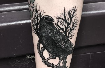 80 Beautiful Raven Tattoo Designs – Select Yours Today