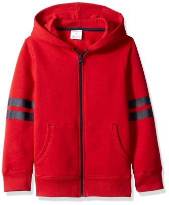Amazon Essentials Boys' Fleece Zip-up Hoodie