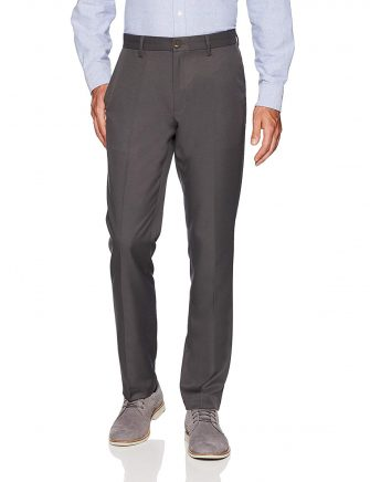 Amazon Essentials Men's Slim-Fit Flat-Front Dress Pants