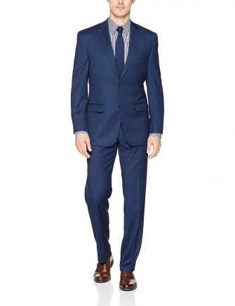 Andrew Marc Men's Slim Fit Ready to Wear Suit