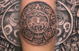 85 Mighty Aztec Tattoo Designs – Striking, Provocative and Distinctive