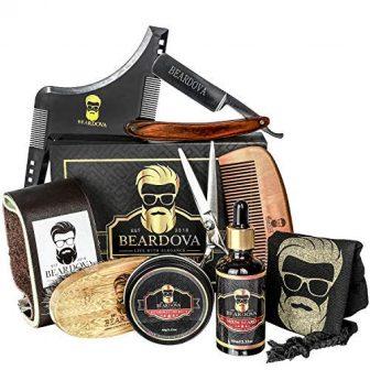 Beard Grooming Kit for Men 10 in 1 – Best Beard Kit...