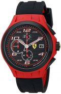 Ferrari Men's 0830017 Lap Time Analog Display Quartz Black Watch
