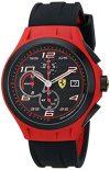 Ferrari Men's 0830017 Lap Time Analog Display Quartz Black Watch