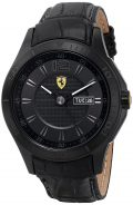 Ferrari Men's 0830093 Scuderia Analog Display Quartz Black Watch