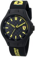 Ferrari Men's 0830158 Pit Crew Black Sport Watch Watch