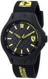 Ferrari Men's 0830158 Pit Crew Black Sport Watch Watch