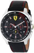Ferrari Men's 0830166 Aero Evo Analog Display Quartz Black Watch