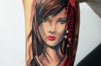 55 Striking Geisha Tattoo Designs – An Intelligent and Elegant Lady