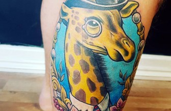 65 Impressive Giraffe Tattoo Ideas – The Designs That Will Make You Smile